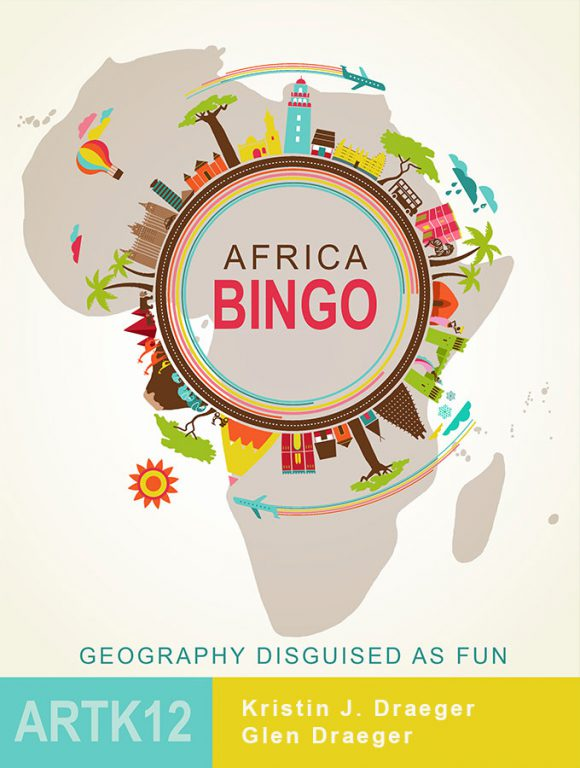Africa Bingo by Kristin J. Draeger. Book cover.