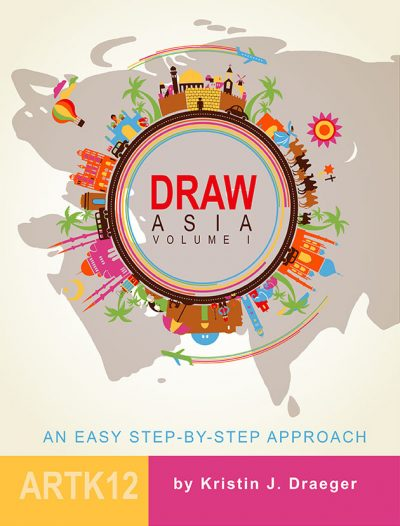 Draw Asia Volume I by Kristin J. Draeger. Book cover.