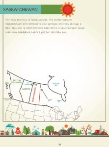 Draw Canada and Greenland, Page 16, by Kristin J. Draeger