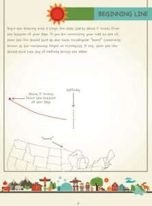 Draw Canada and Greenland, Page 7, by Kristin J. Draeger
