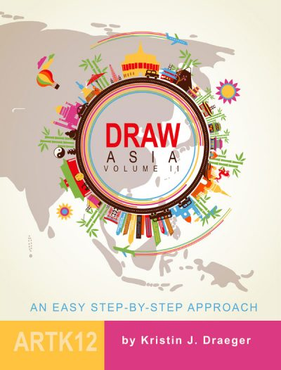 Draw Asia Volume II by Kristin J. Draeger. Book cover.