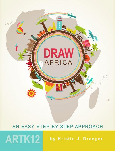Draw Africa by Kristin J. Draeger. Book cover.