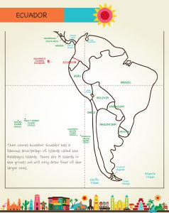 Draw Mexico, Central and South America, Page 50, by Kristin J. Draeger