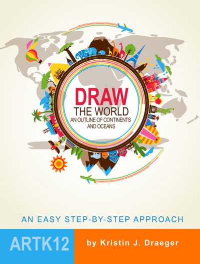 Draw the World by Kristin J. Draeger. Book cover.