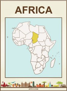 Africa Bingo: Flash Card Front 3
