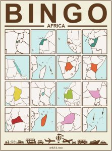 Africa Bingo Card Version 2