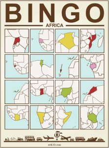 Africa Bingo Card Version 3