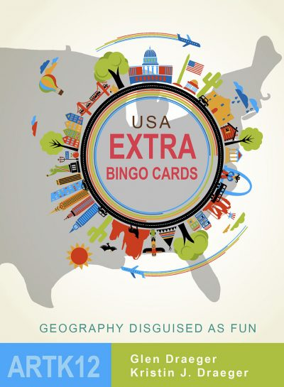 USA Extra Bingo Cards Cover